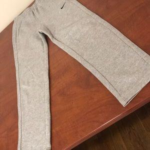 Boys Nike gray sweatpants. Size 7/L.